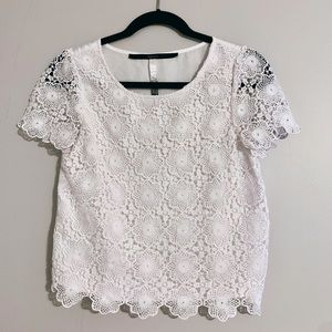 Lacey White Blouse